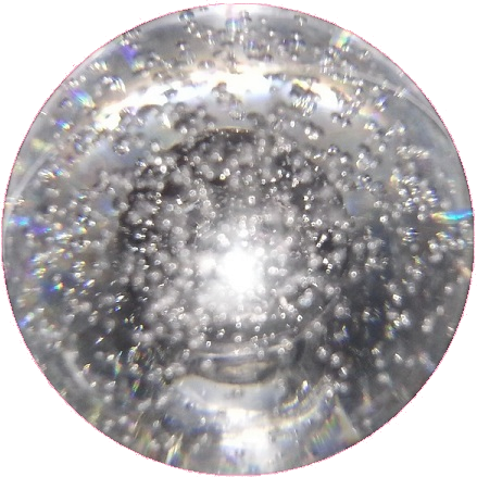 Transparent orb water. Iron maiden mystic modfather
