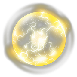 Transparent orb yellow. Image electricfying png dungeon