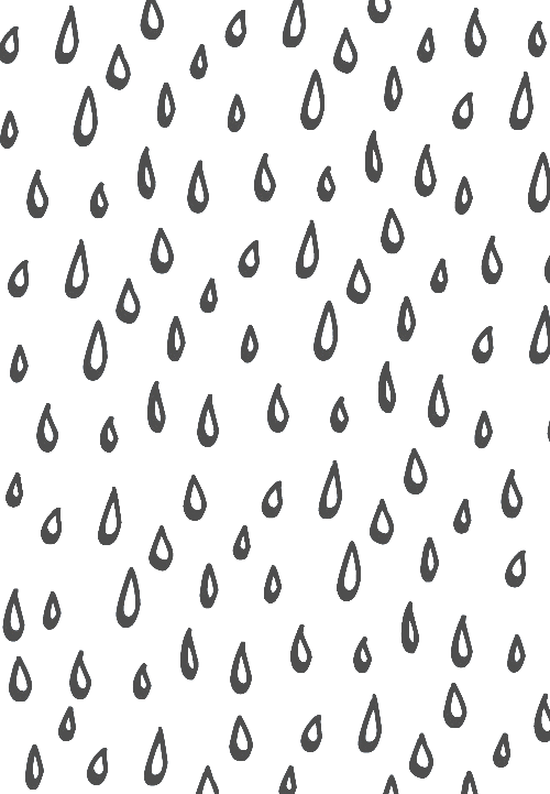 Drawing raindrops sketch