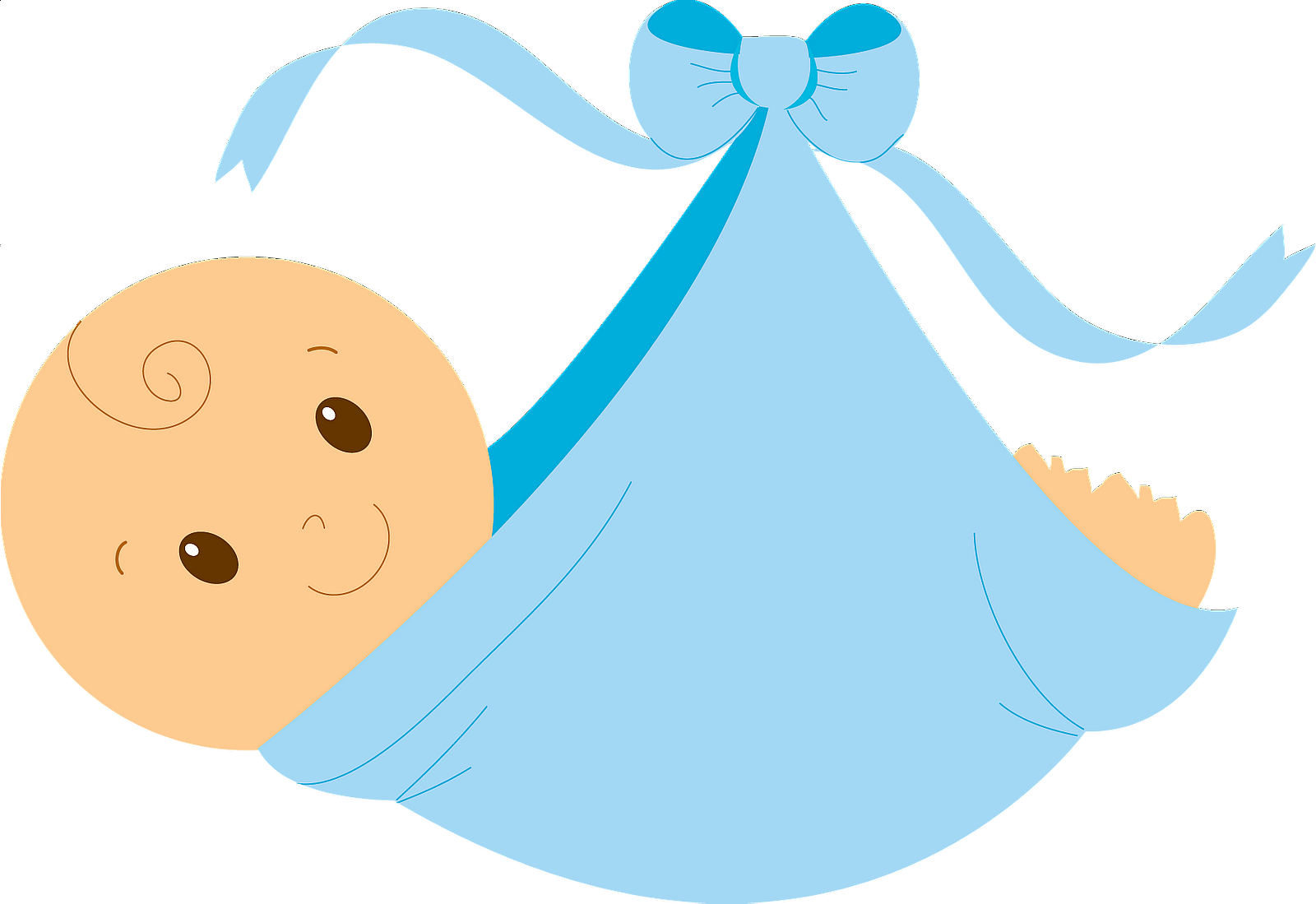 Transparent pacifier newborn baby boy. Free clipart download clip