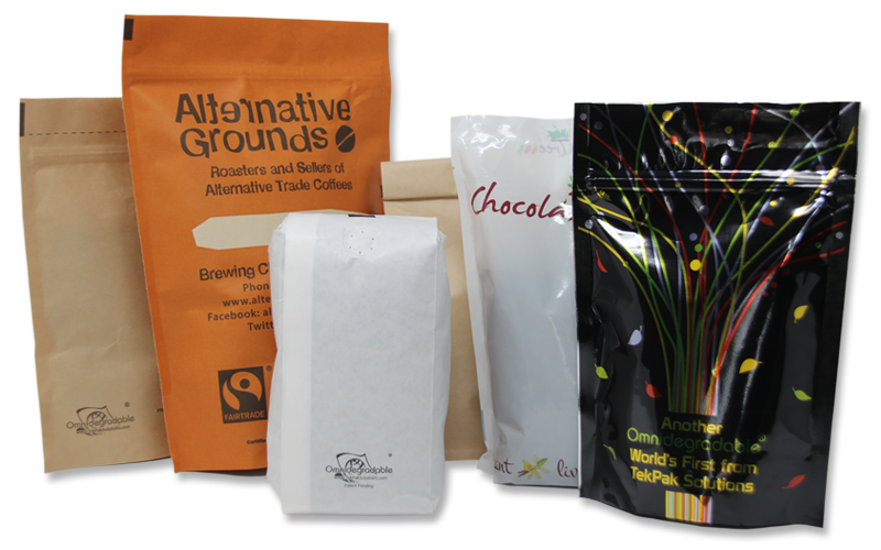 Transparent packaging aluminum bag food. Biodegradable bags pouches and