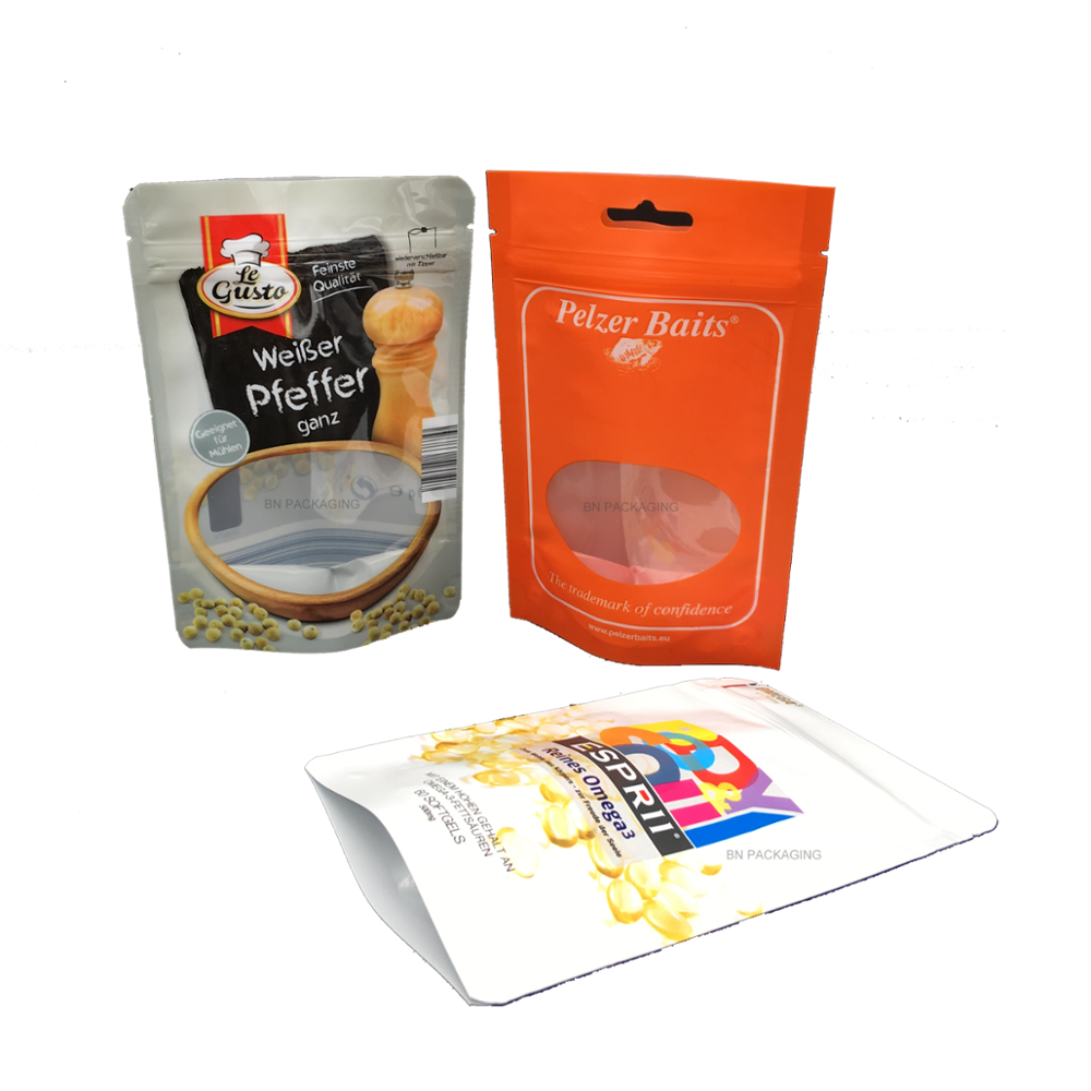 Transparent packaging aluminum bag food. Ready to eat suppliers