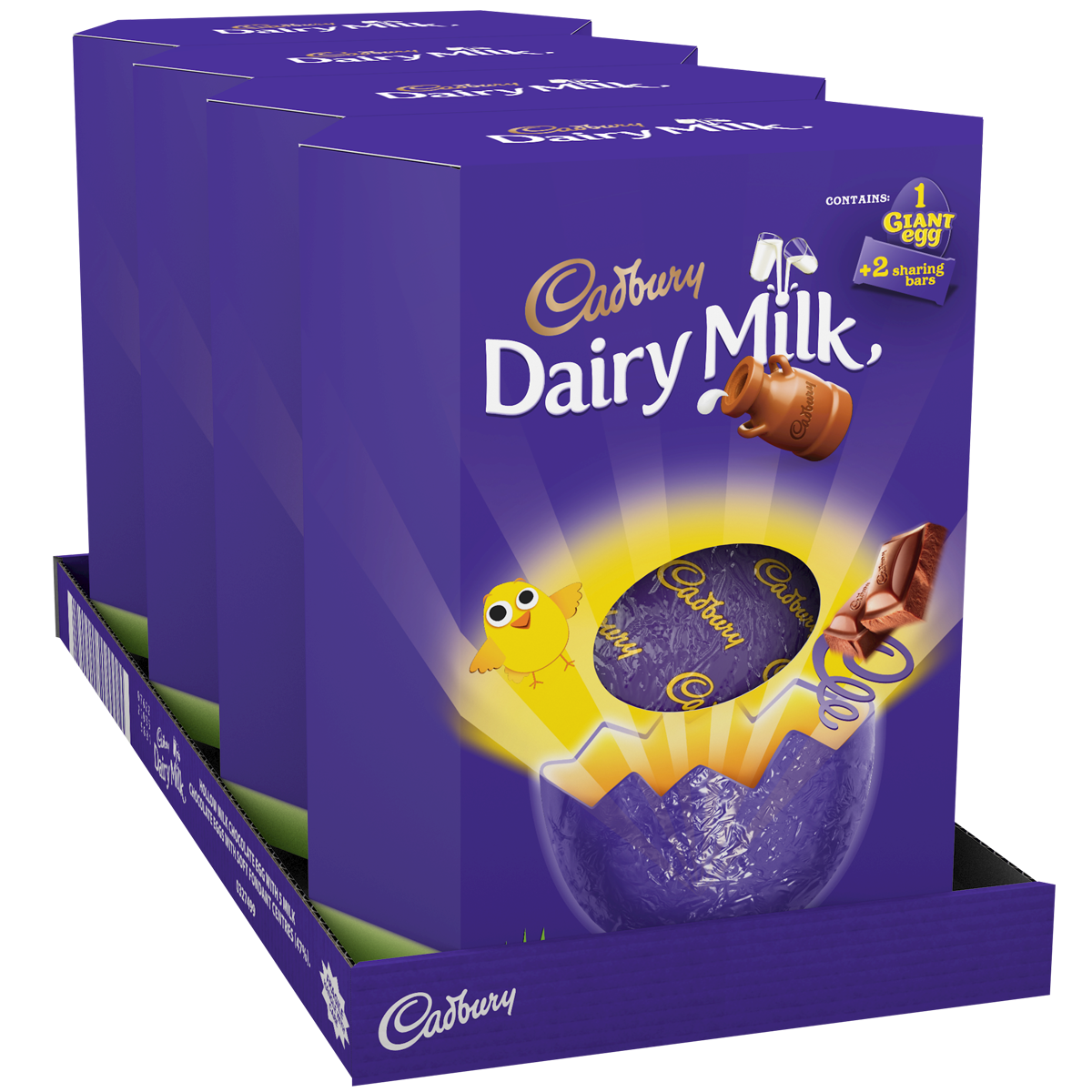 transparent packaging chocolate egg