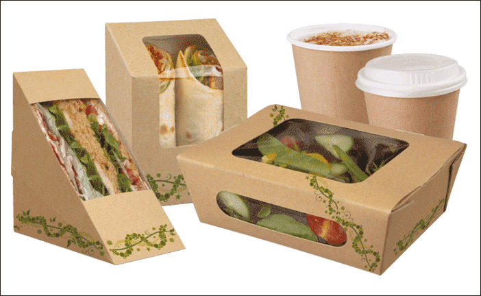 Transparent packaging food. Boxes wholesale custom manufacturer