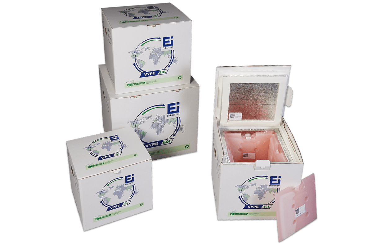 Transparent packaging innovative. Vype new generation isothermal