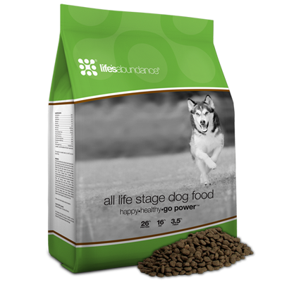 Transparent packaging pet. Dog food pouch box