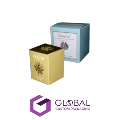 Transparent packaging printed. Custom boxes with logo