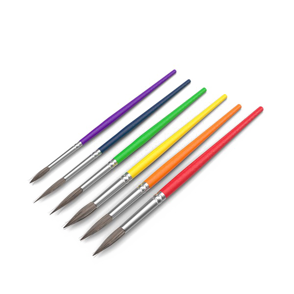 Paint brush png image. Transparent paintbrush artistic image royalty free stock