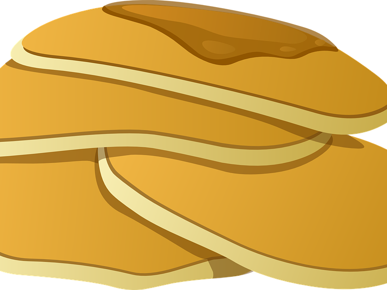 Pancake themed maths on. Transparent pancakes animated vector free library