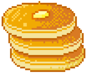Transparent pancakes kawaii. Images about transparents