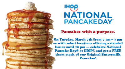 Transparent pancakes short stack. Free of buttermilk at