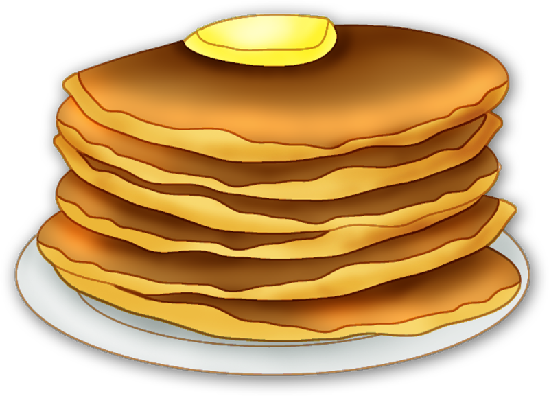 Transparent pancakes single. Pancake banner library