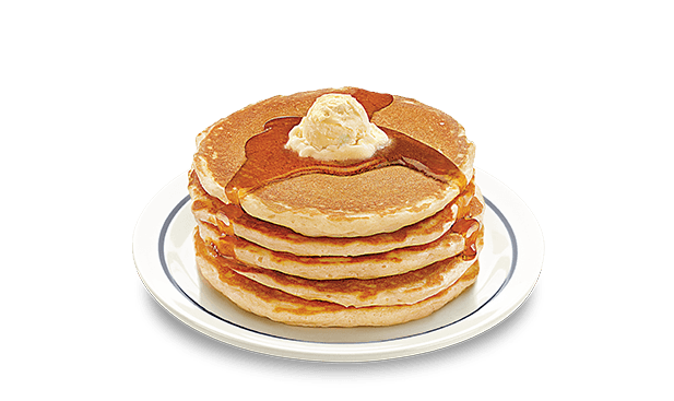 Transparent pancakes tall. Nothing matches the originalbuttermilkpancakes