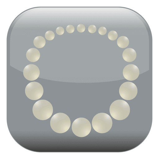 Transparent pearls svg. Pearl square icon png