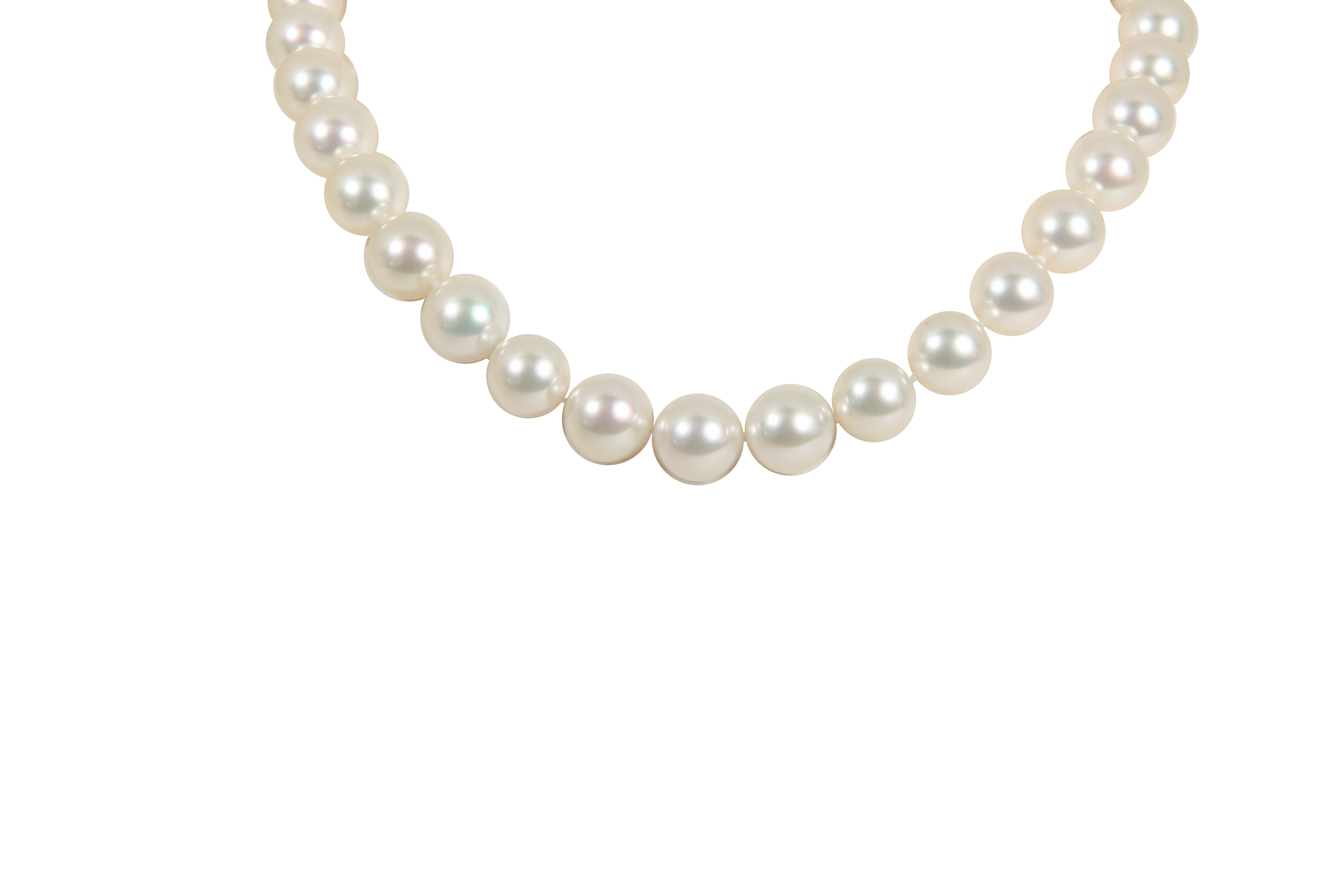 Transparent pearls vintage. Marvel jewelry white south