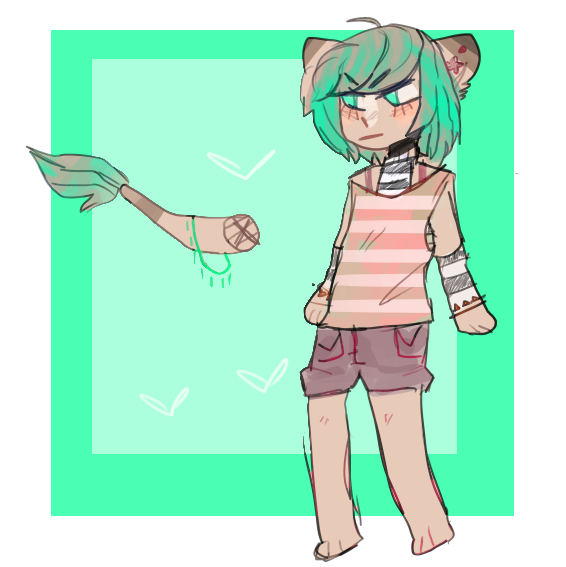Transparent personality aesthetic. Kaede by mistake on