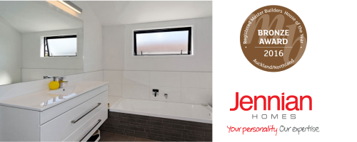 Transparent personality bathroom. News awards clearlite bathrooms