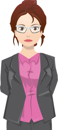 Transparent personality cutout. Add some character to