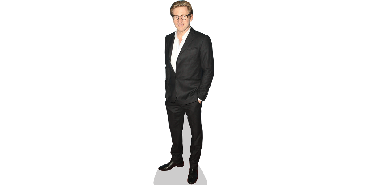 Transparent personality cutout. David wenham cardboard celebrity