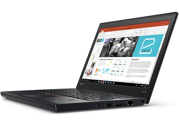 Transparent personality laptop. Thinkpad x portable business