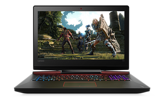 Transparent personality laptop. Lenovo ygaming y for