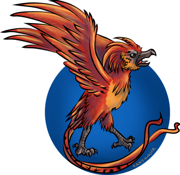 Transparent phoenix fawkes. The by kosmotiel on