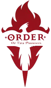 Image order of the. Transparent phoenix harry potter png black and white download