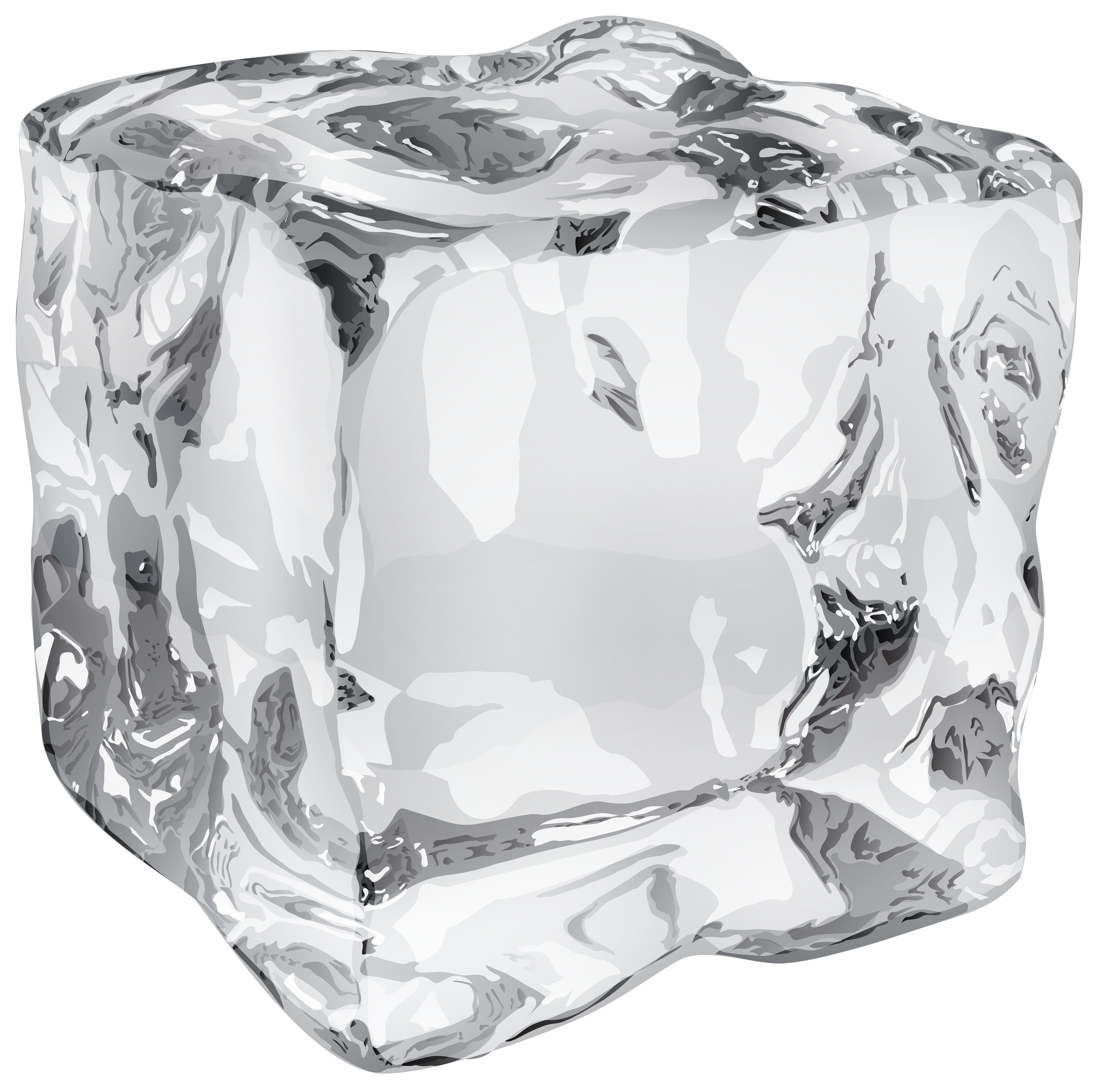 Transparent photography ice. Cube png clip art