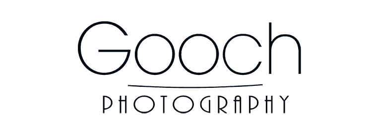 Transparent photography impactful. Home gooch logo