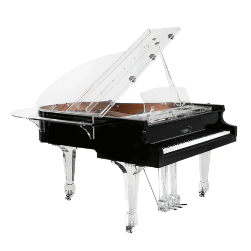 Transparent pianos acrylic. Clear piano for sale