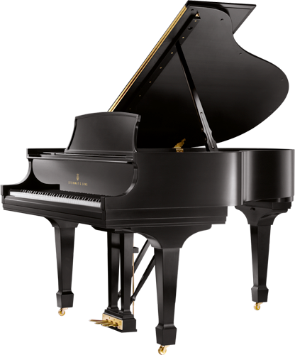 Transparent pianos baby grand. Steinway sons model s