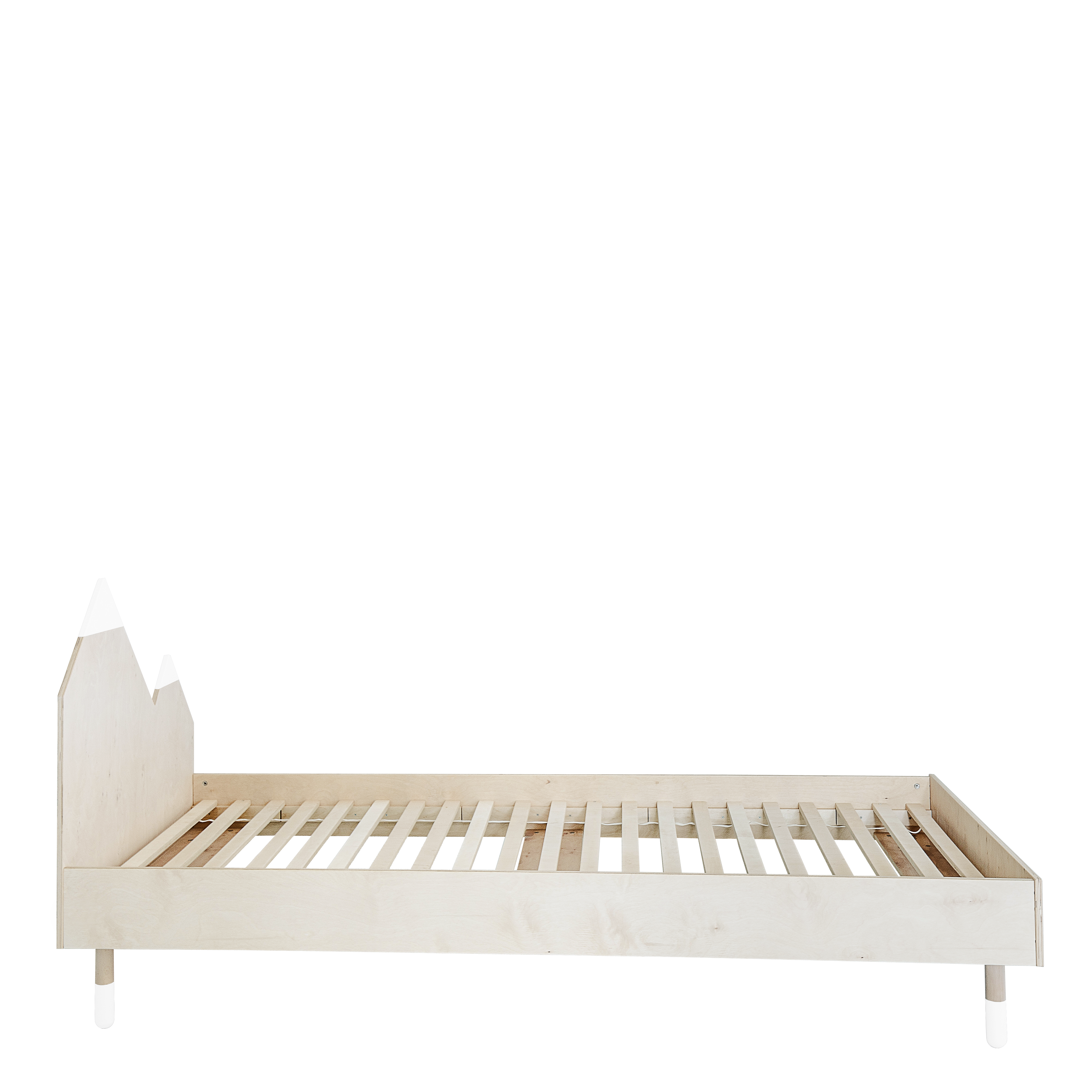 Transparent pianos bed. X cm mountains collection