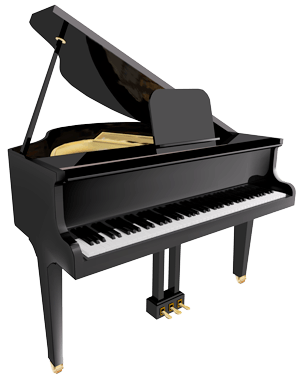Specialty moves piano movers. Transparent pianos big clip freeuse stock