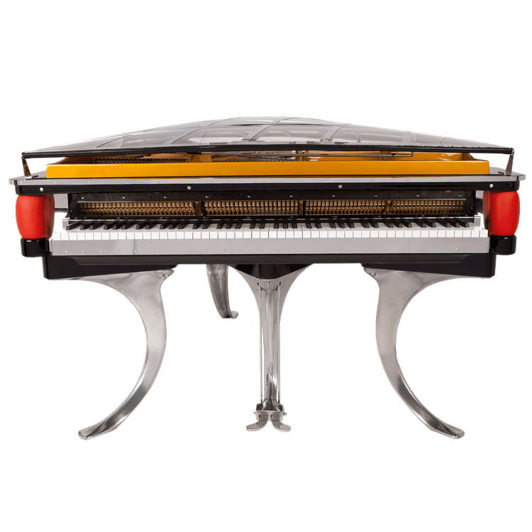 Transparent pianos giant. Bluthner ph piano for