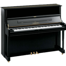 Transparent pianos industrial. Black piano image png