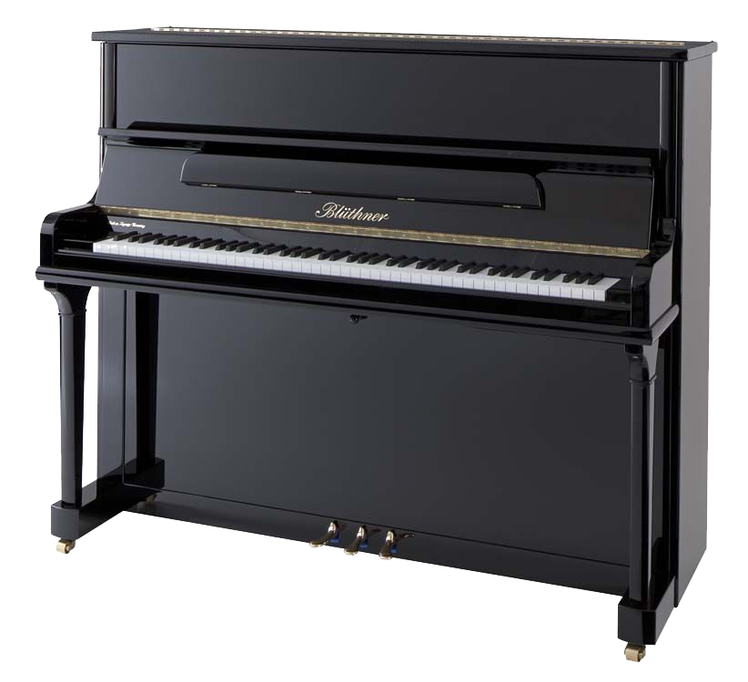 Transparent pianos industrial. The bl thner model
