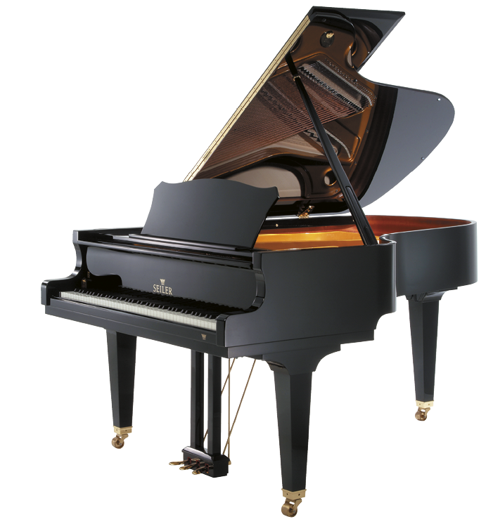 Transparent pianos odd. Review seiler model maestro