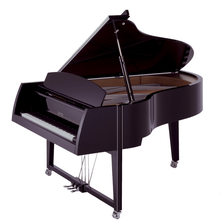 Transparent pianos perspex. Acrylic piano benches for