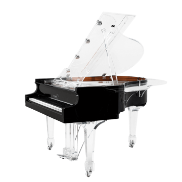 Transparent pianos wierd. Aire acrylic clear baby