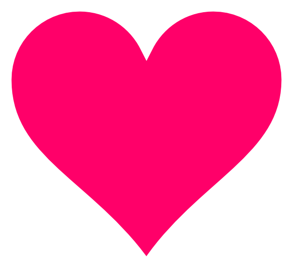 Transparent pink png. Heart pictures free icons