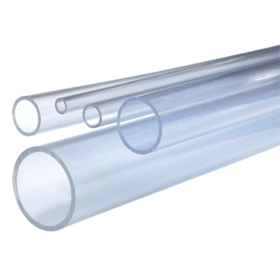 Transparent pipes clear pvc. Pipe plain end