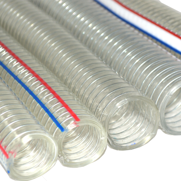 Transparent piping flexible. Pvc hose manufacturers in