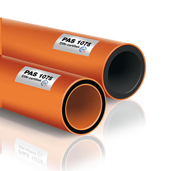 Transparent pipes gas. Polyethylene pipe manufacturers idrotherm