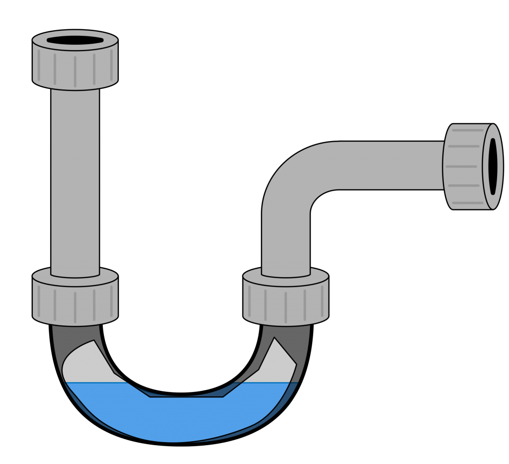 Transparent pipes plumbing. What is sewer pipe