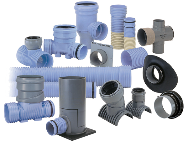 Transparent piping cheap. Products pvcu ribbed pipes