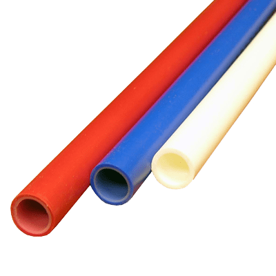 Transparent piping pex. Cpvc or copper plumbing