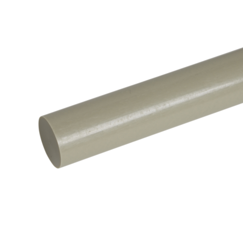 Transparent piping pph. Solid rod size mm
