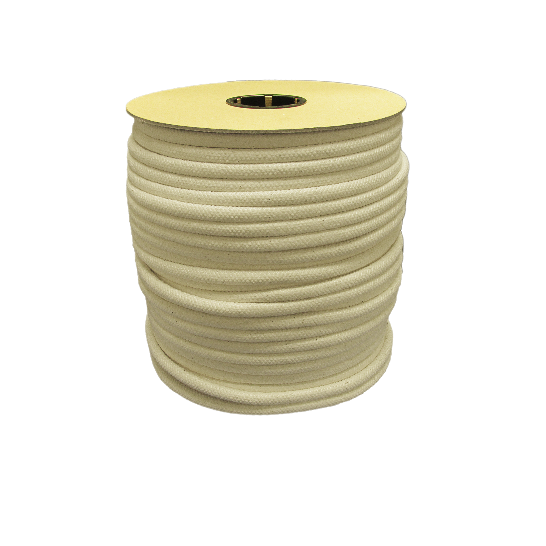 Transparent piping large. Cotton cord cording