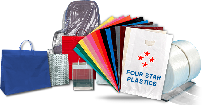 Transparent plastics polythene. Wholesale plastic bags poly