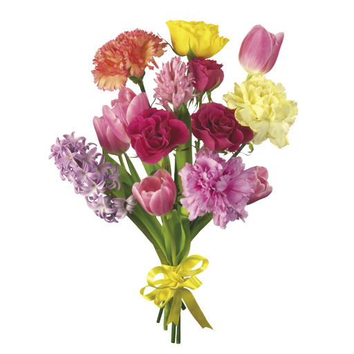 Transparent png bouquet of flowers. Flower by dementiarunner on